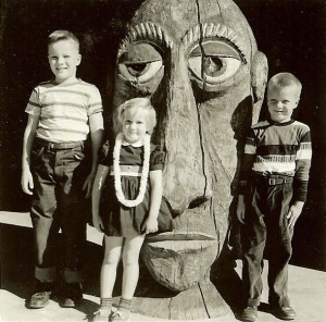 I was bitten by the tiki bug at a young age.
