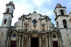 Catholic church in Old Havana