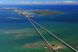 42 overseas bridges span the islands from Key Largo to Key West