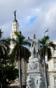 Statue of Jose Marti in Havana's main square