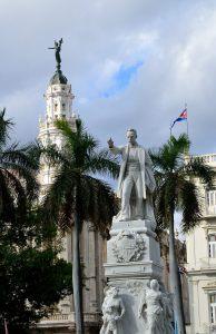 Statue of Jose Marti in Havana's main square