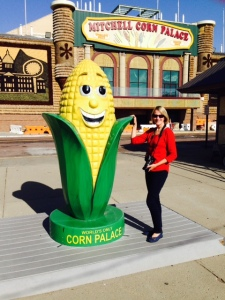 Cornelius, the Corn Palace Mascot