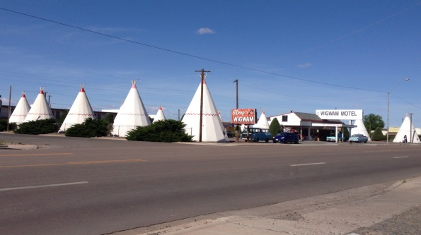 Wigwam Motel in Holbrook, AZ. Yes, we stayed here and, yes, it was awesome.