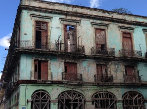 Because of decades of neglect, many of Havana's buildings are at risk of collapsing