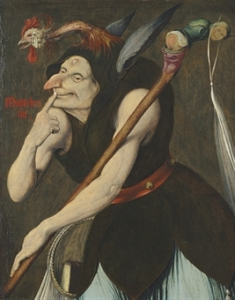 An Allegory of Folly (early 16th Century) by Quentin Massys