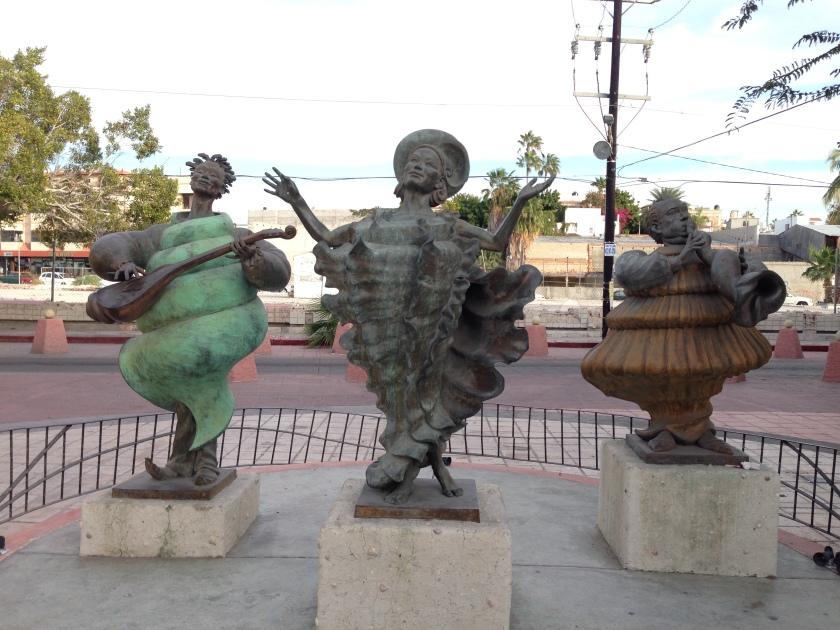 Seashell musicians