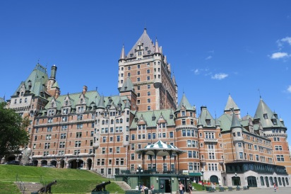 Le Chateau Frontenac is said to be the world's most photographed hotel