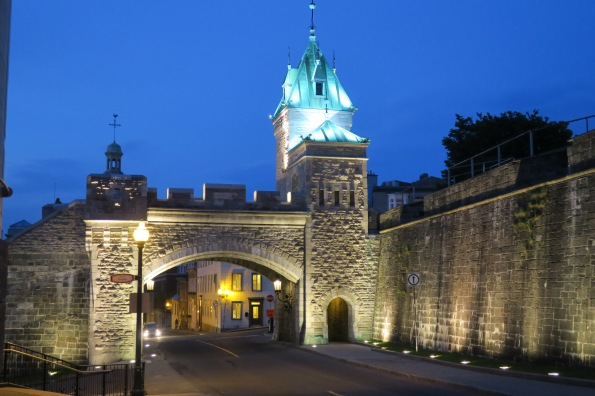 The fortifications were developed between 1608 and 1871, erected under both French and British regimes.