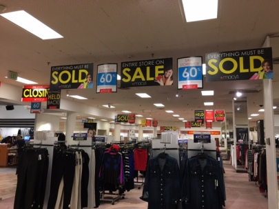 Entire store on sale