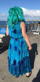 Funky mermaid.