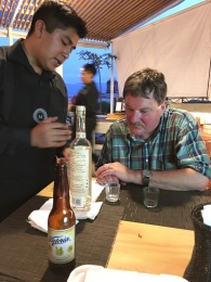My brother learning the finer qualities of Mezcal in Oaxaca